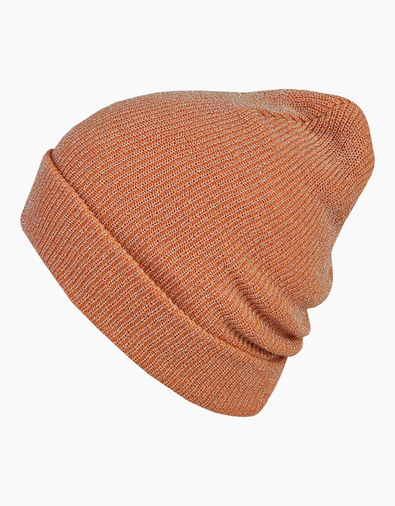 Bexleys woman glitzernde Beanie-Strickmütze | ADLER Mode Onlineshop