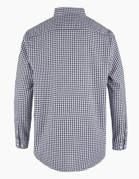 Big Fashion Hemd mit Vichy-Karo und Button-Down | ADLER Mode Onlineshop