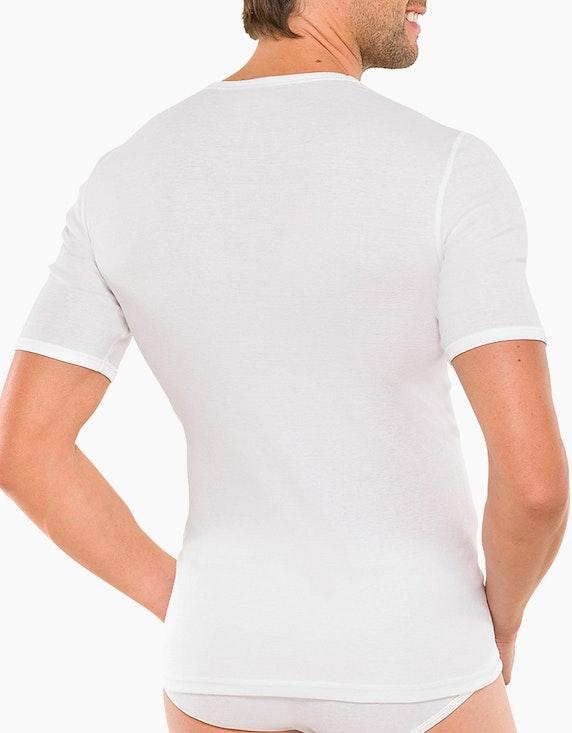 Schiesser Shirt kurzarm - Essentials Feinripp | ADLER Mode Onlineshop