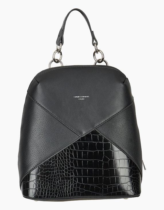 Conti Kleiner Rucksack mit Standfüßen und Animalmuster | ADLER Mode Onlineshop