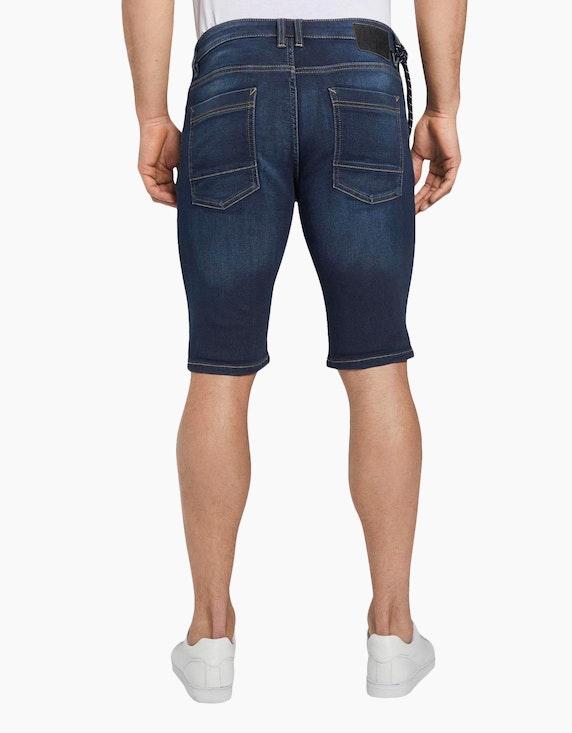 Tom Tailor Jeans-Shorts mit Schlüsselbund   ADLER Mode Onlineshop