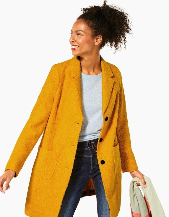 Street One Mantel im Blazer-Style, Curly-Woll-Optik | ADLER Mode Onlineshop