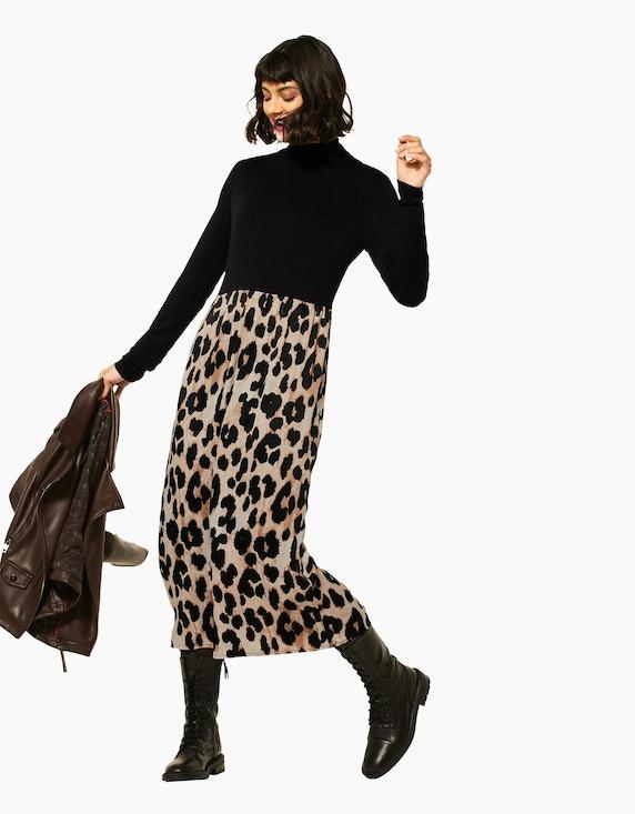 Street One Midi-Kleid mit Leo-Rock | ADLER Mode Onlineshop