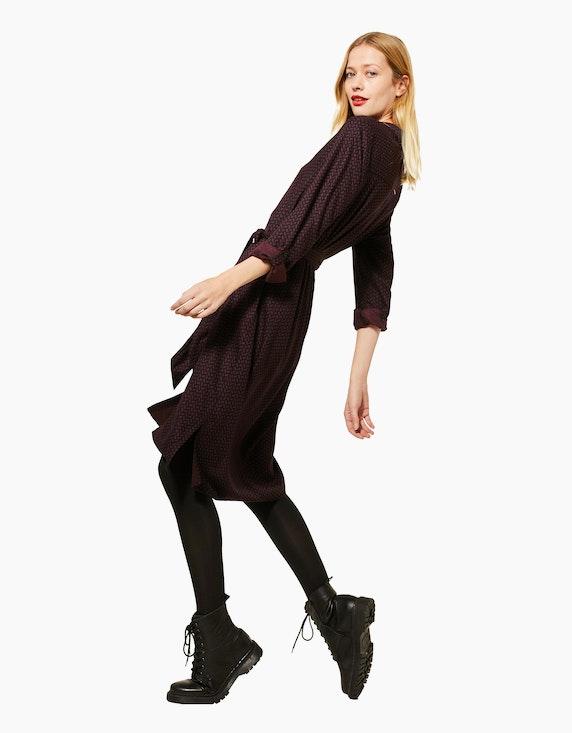 Street One Hemd-Kleid mit Muster | ADLER Mode Onlineshop