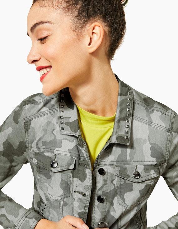 Street One Camouflage-Jeansjacke | ADLER Mode Onlineshop