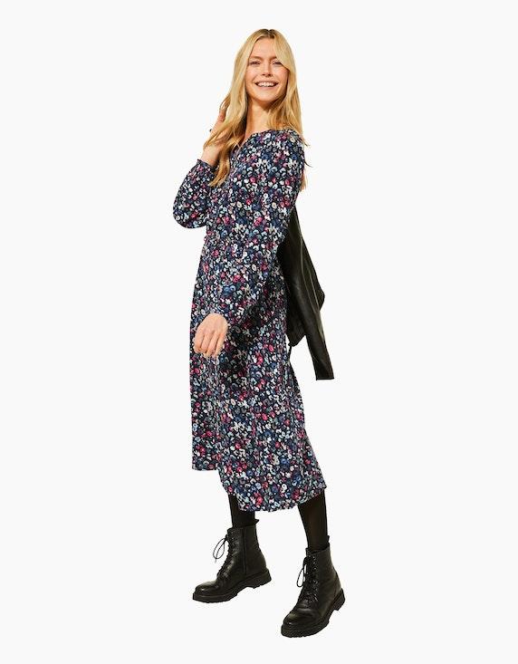 CECIL Midi-Kleid mit Blumen | ADLER Mode Onlineshop