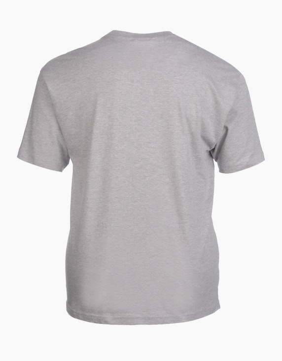 Big Fashion Basic T-Shirt Rundhalsausschnitt   ADLER Mode Onlineshop