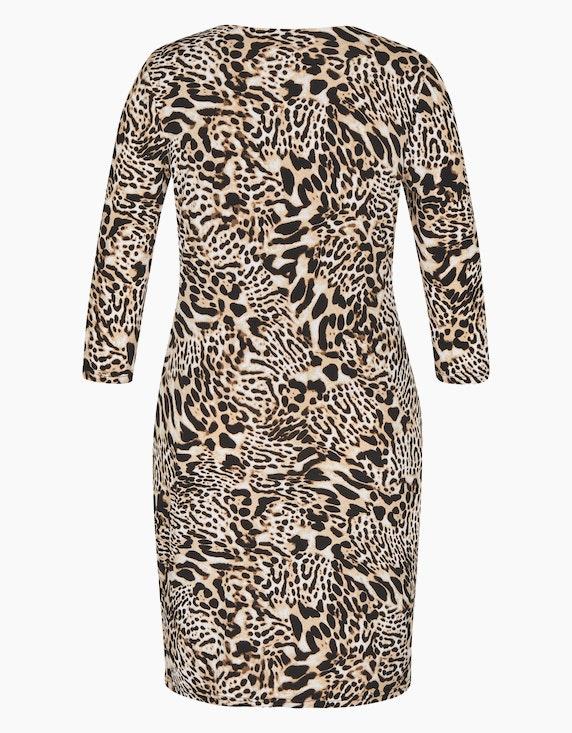 Bexleys woman Kleid im Animal-Look | ADLER Mode Onlineshop