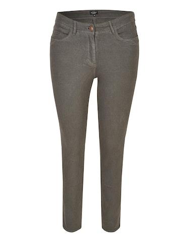 Hosen - Hose mit Garment Dyed Effekt, 38  - Onlineshop Adler
