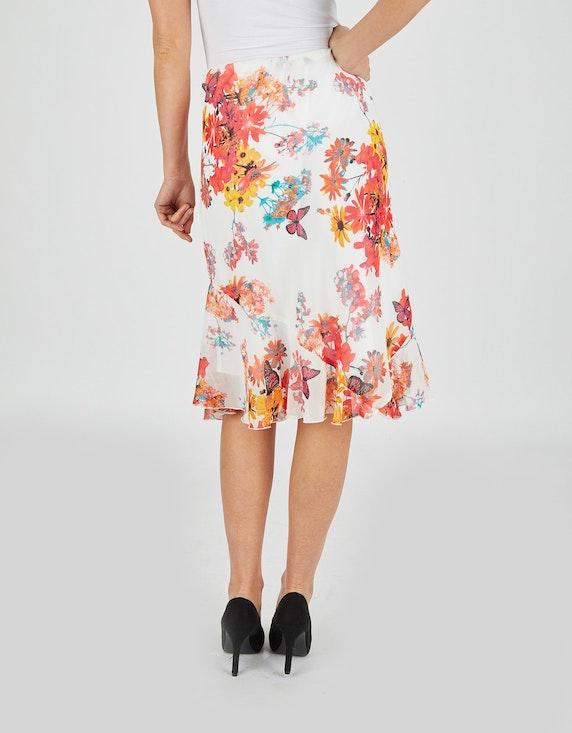 Bexleys woman Chiffonrock mit floralem Muster   ADLER Mode Onlineshop
