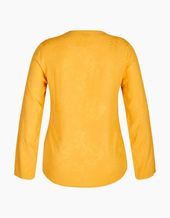Bexleys woman Jacquard-Bluse mit Kettenbesatz | ADLER Mode Onlineshop