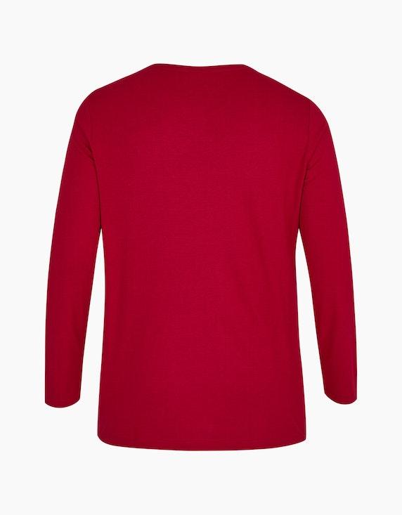 Thea Basic-Shirt mit Frontdruck | ADLER Mode Onlineshop