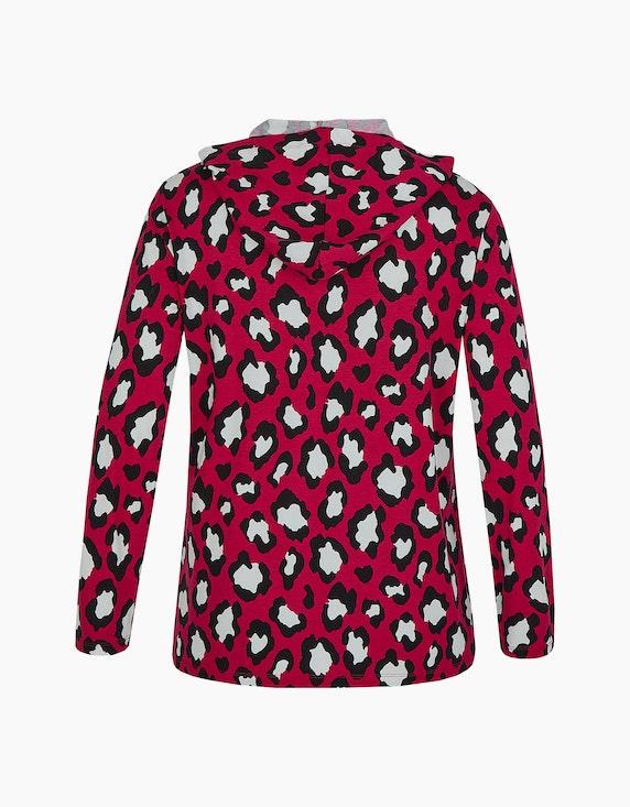 Thea Shirt mit Leo-Print und Kapuze | ADLER Mode Onlineshop