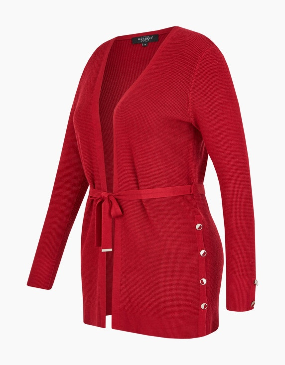 Bexleys woman modische lange Strickjacke | ADLER Mode Onlineshop