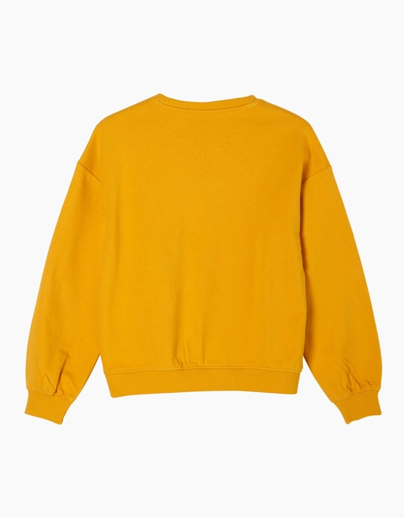 s.Oliver Girls Sweatshirt mit Wording-Print   ADLER Mode Onlineshop