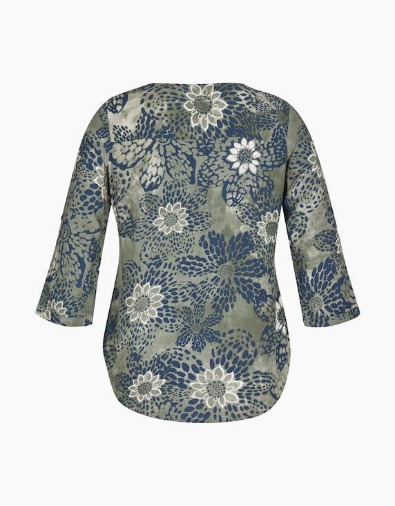 Bexleys woman Bluse mit Allover-Print und Strass-Besatz | ADLER Mode Onlineshop