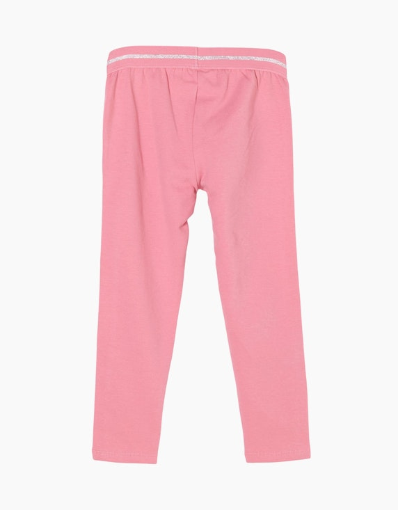 s.Oliver Mini Girls Sweatpants mit Glitzerbund | ADLER Mode Onlineshop