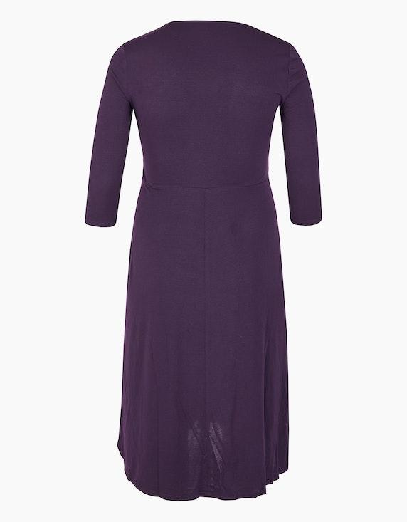 Bexleys woman Jerseykleid mit Knotendrapierung | ADLER Mode Onlineshop