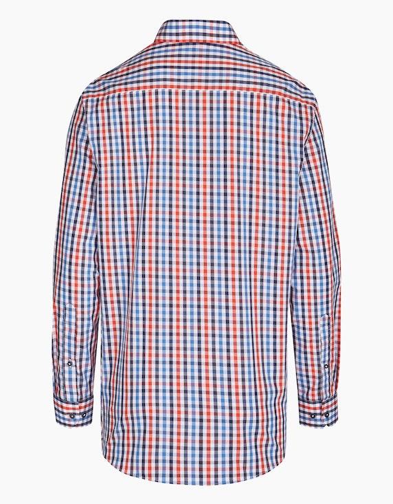 Bexleys man Freizeithemd im Kleinkaro-Dessin, REGULAR FIT   ADLER Mode Onlineshop