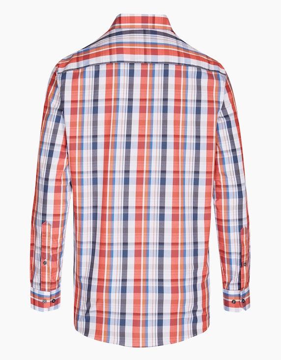 Bexleys man Farbenfrohes Karohemd mit Brusttasche, REGULAR FIT   ADLER Mode Onlineshop
