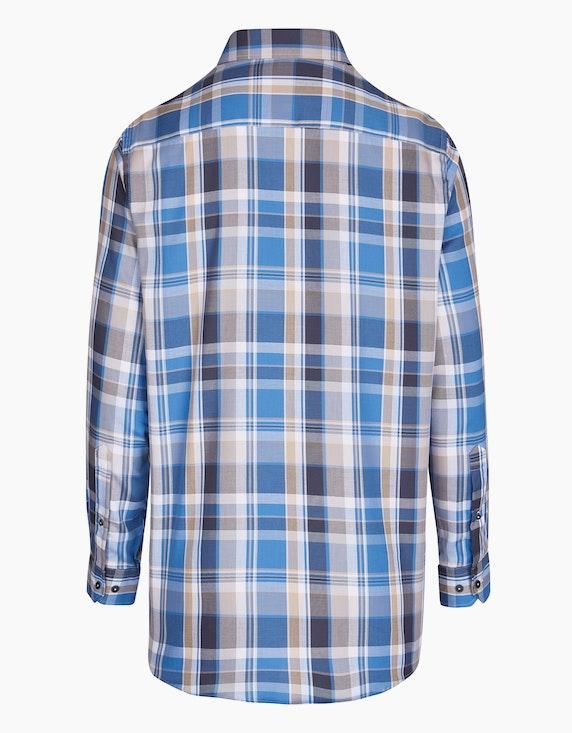 Bexleys man Freizeithemd in modernem Karo-Dessin, REGULAR FIT   ADLER Mode Onlineshop