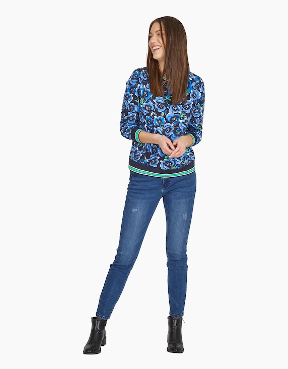 MY OWN Sweatshirt mit Blumen-Muster | ADLER Mode Onlineshop