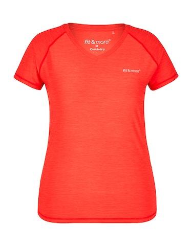 Sportmode - Fitness Shirt mit Melange Effekt, 48  - Onlineshop Adler
