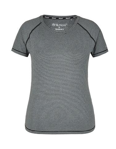 Sportmode - Fitness Shirt mit feinen Streifen, 50  - Onlineshop Adler
