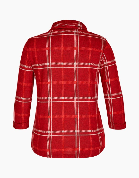 Bexleys woman Shirt mit 3/4-Arm und Rollkragen | ADLER Mode Onlineshop