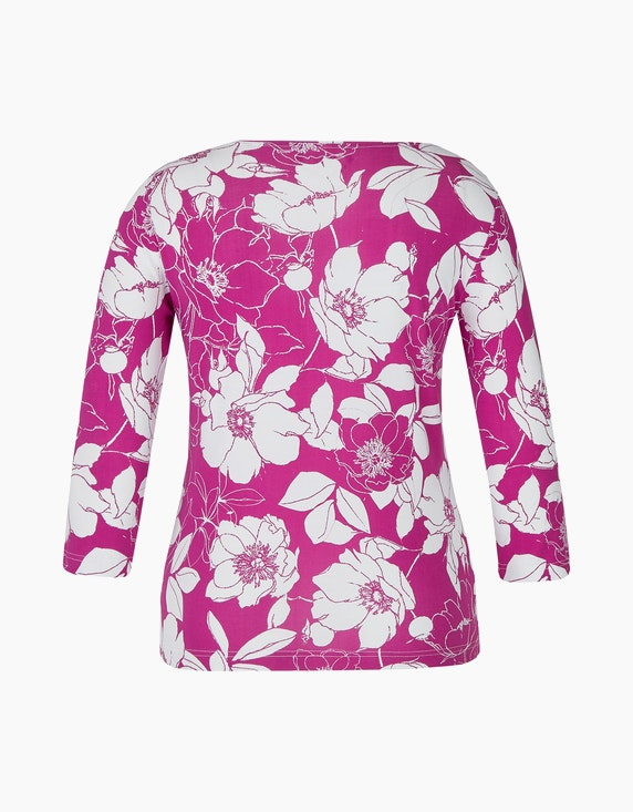 Malva Shirt mit floralem Druck | ADLER Mode Onlineshop
