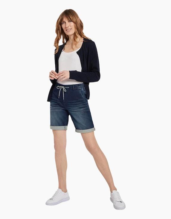 Tom Tailor Jeans-Bermuda-Shorts mit Tunnelzug | ADLER Mode Onlineshop