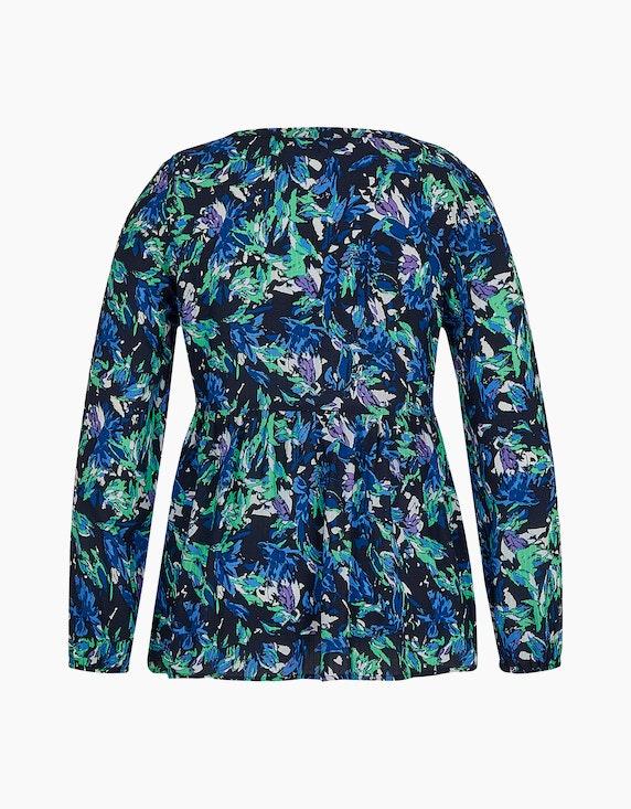 MY OWN Bluse mit floralem Druck und Volant | ADLER Mode Onlineshop