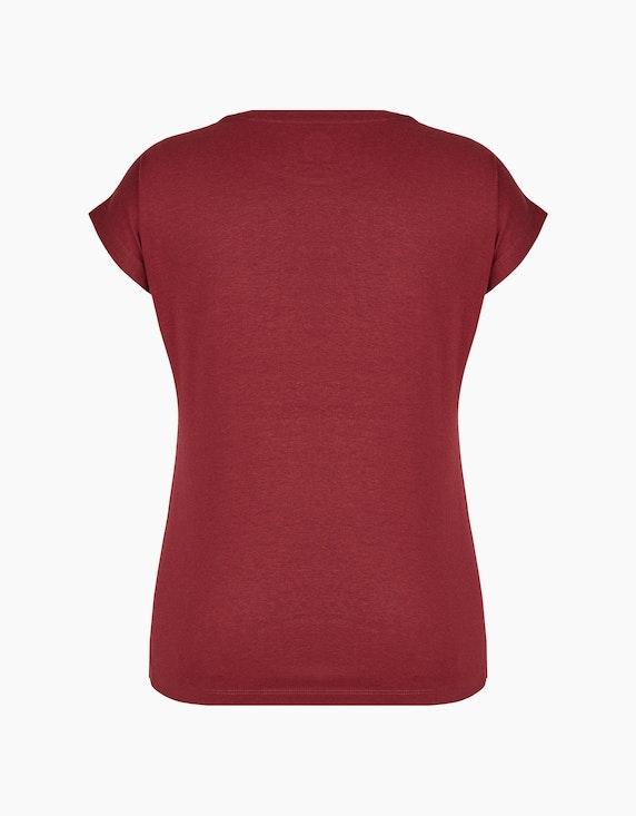 Bexleys woman Kurzarmshirt mit Frontdruck und Strassbesatz | ADLER Mode Onlineshop