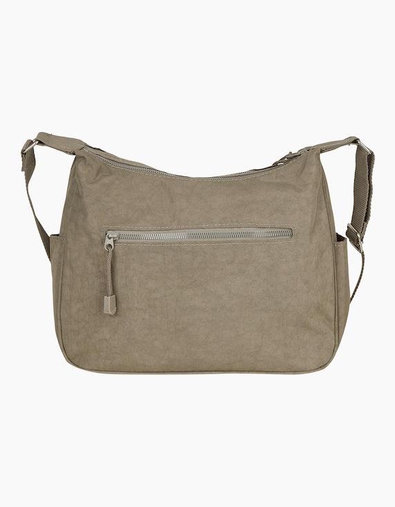 Conti Praktische Crinkle-Nylon Tasche mit Details | ADLER Mode Onlineshop