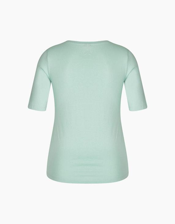 Bexleys woman Kurzarmshirt mit metallic Frontdruck | ADLER Mode Onlineshop