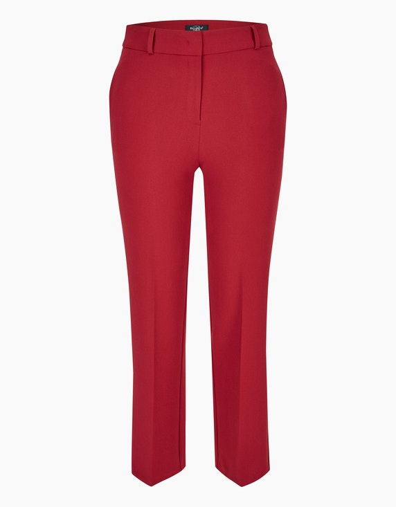 Bexleys woman City-Hose mit Bügelfalte in Rot | ADLER Mode Onlineshop