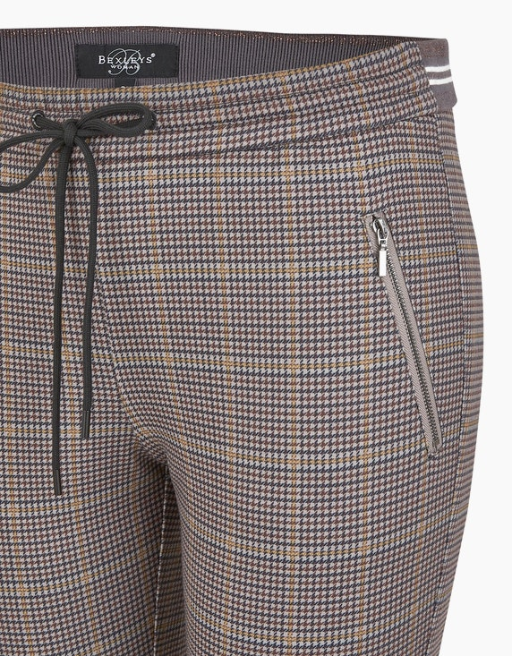 Bexleys woman Hahnentritt-Joggpants | ADLER Mode Onlineshop
