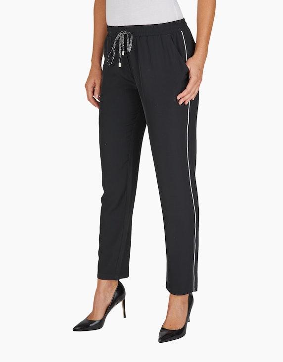 Bexleys woman Joggpants mit Glitzer-Paspel | ADLER Mode Onlineshop