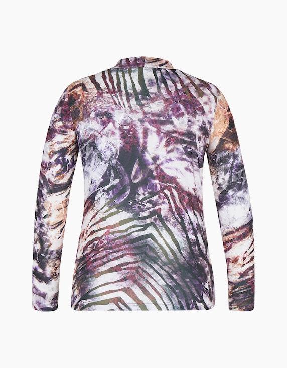 Malva Langarmshirt mit Stehkragen | ADLER Mode Onlineshop