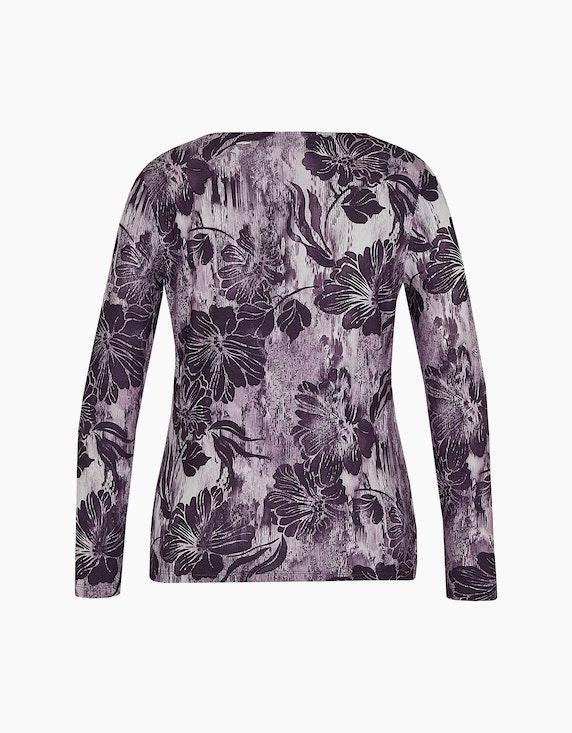 Malva Langarmshirt mit floralem Druck | ADLER Mode Onlineshop