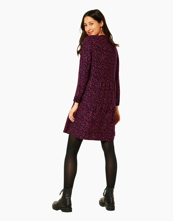 Street One Kleid mit buntem Printmuster   ADLER Mode Onlineshop