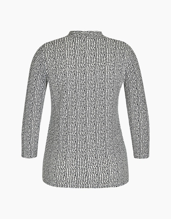 Bexleys woman Shirt mit Ärmel in 3/4-Länge mit Punktedruck | ADLER Mode Onlineshop