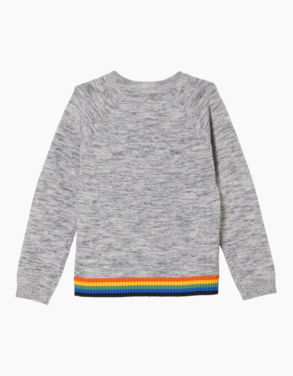 s.Oliver Mini Boys Pullover mit buntem Wording | ADLER Mode Onlineshop