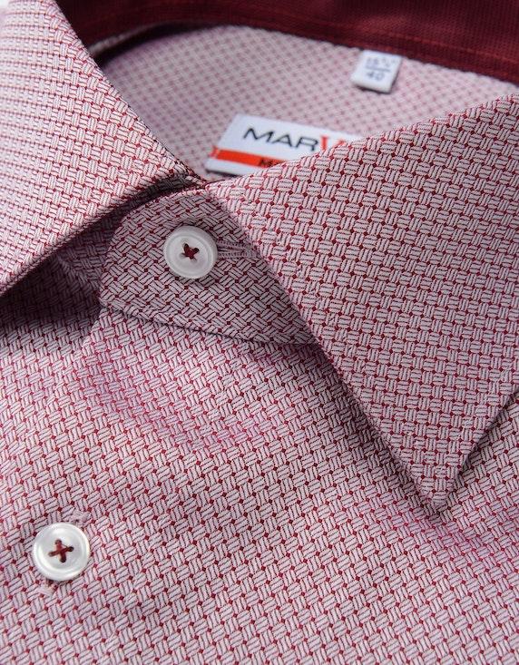 Marvelis Businesshemd, langarm, gemustert, MODERN FIT | ADLER Mode Onlineshop
