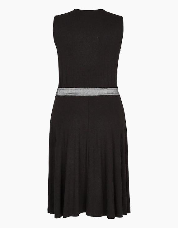 Viventy Jerseykleid mit Glitzer-Taillenband | ADLER Mode Onlineshop