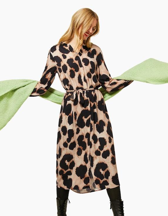 Street One Kleid im Leo-Look | ADLER Mode Onlineshop