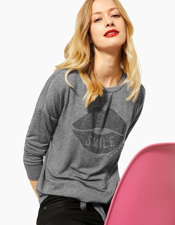 Street One Jersey-Shirt mit Frontprint | ADLER Mode Onlineshop