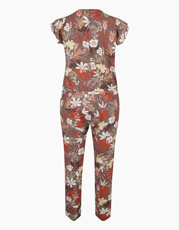 No Secret Jumpsuit mit Allover-Print | ADLER Mode Onlineshop