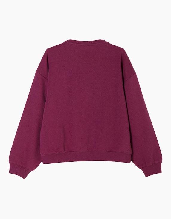 s.Oliver Girls Sweatshirt mit Statement-Wording | ADLER Mode Onlineshop