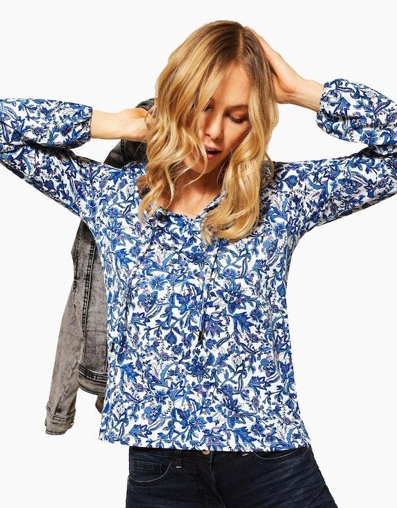 CECIL Tunika-Shirt mit Blumen | ADLER Mode Onlineshop